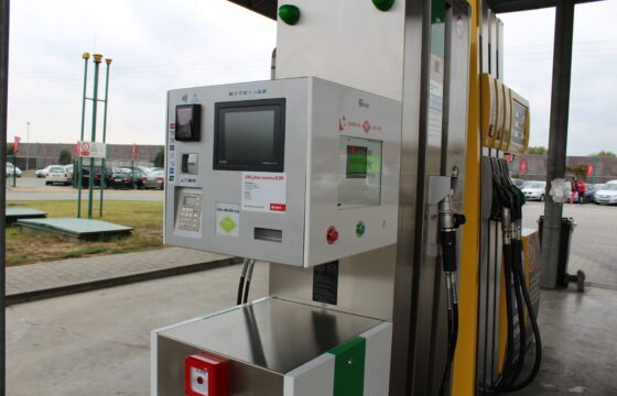 CNG fuel station