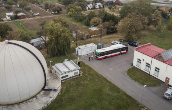 Connection of the BIO CNG filling station to gas distribution grid in the BVaK (Sewer & Waterworks Operator, Brno city)